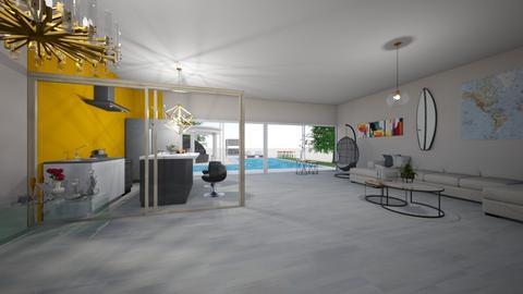 fresh hall - Living room - by anaclaraalvesjianelli