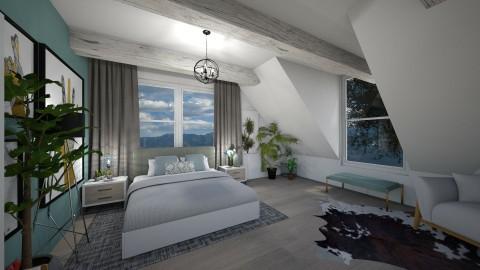 bedroom 1 - Bedroom - by elvievandenbroek