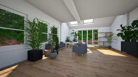 Flora - Living room  - by zomi