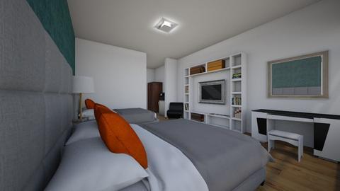 estructura hotelera - Modern - Bedroom - by juan luis cantorin quinteros
