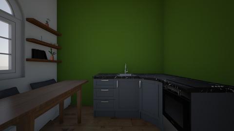 Kitchen bench - Kitchen  - by Galinastage