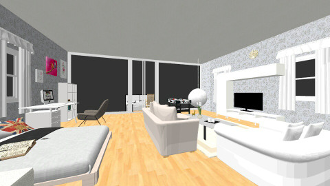 Bedroom.Mudawi - Glamour - Bedroom - by mudawi321