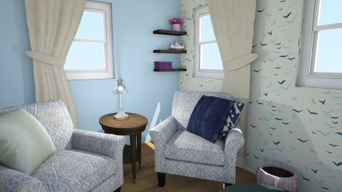 Privilege of Casualties  - Modern - Living room - by Yimika Adebayo