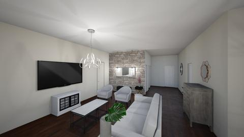 New house 3 - Living room - by Niva T