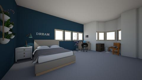 dream room  - Bedroom  - by Sabine  wren