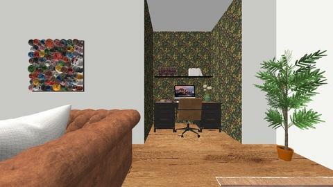 kamer beschrijven frans - Retro - Living room  - by pauwels_ella