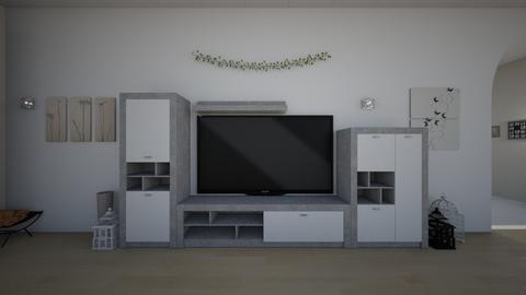 house l1 - Living room  - by nikolinajadanic