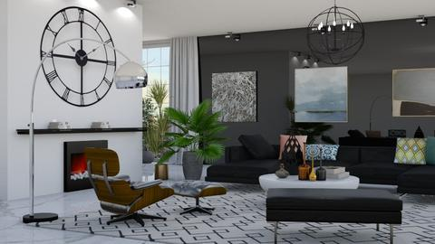 Clock  - Glamour - Living room  - by Aymee Estrella