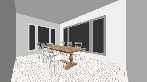 dream dining room - Country - Dining room  - by rileyhayden