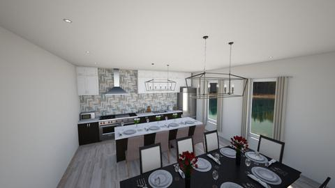 kitchen001 - Modern - by Tina we will ronovate