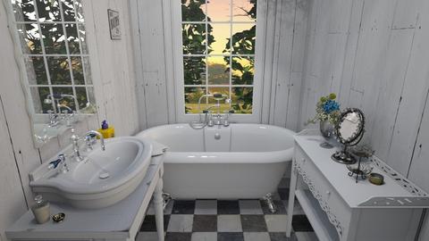Toilet Room - Bathroom  - by mikaelahs
