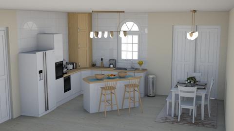 Scandinavian Kitchen - Minimal - Kitchen  - by laurenpoisner