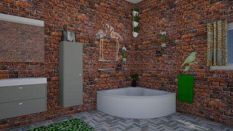 Modern Bath - Modern - Bathroom - by andreeamira
