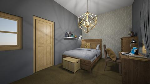 Boy room - Classic - Kids room - by Dorci1922