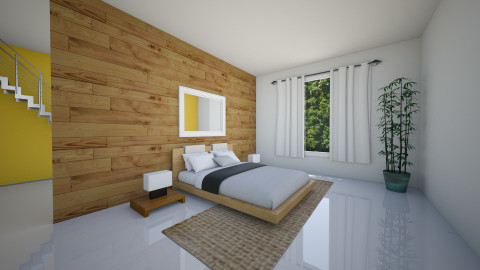Minimalist Bedroom - Minimal - Bedroom  - by homeiswheredesignis