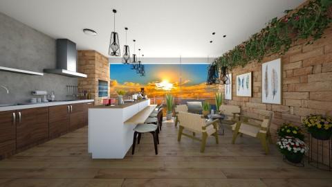 Lounge Valcony - Modern - Garden  - by aletamahi