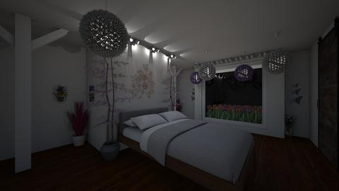 Meadow Bedroom - Modern - Bedroom - by udanielle12