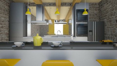 kitchen - by Anchy0712