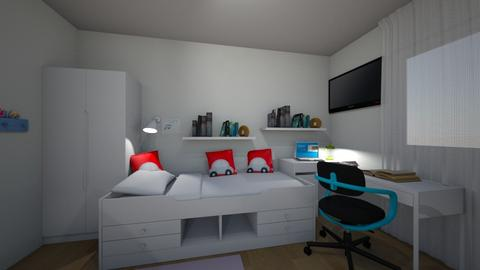 TomDavca_Finish - Kids room  - by LenkaStoudkova