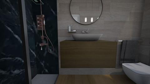 Cologno bagno ospiti15 - Bathroom - by natanibelung
