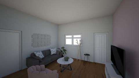 Basement living room  - Rustic - Living room  - by AnnaMaria24567