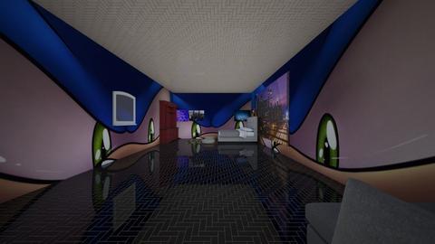 My room - Modern - Bedroom  - by clakley_949601
