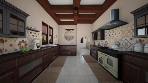 rustico - Rustic - Kitchen  - by Angela Quintieri