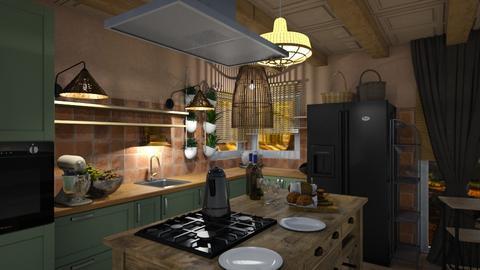 Cozy Kitchen - by heynowgregory