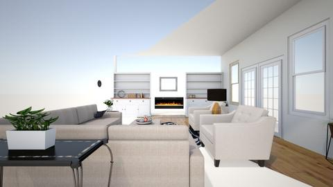 Client 1 Emily - Vintage - Living room  - by Tfortune