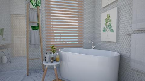 Calm Studio Bath View3 - Modern - Bathroom - by musicdesign22
