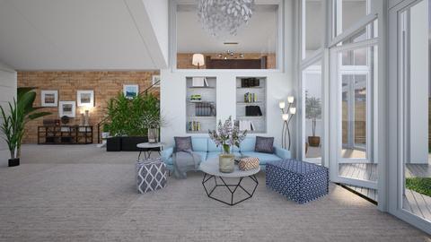 turkey villa - Living room  - by sarasepideh