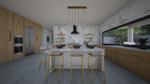 Modern corner - Kitchen  - by flacazarataca_1