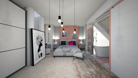 suit attico - Bedroom - by memmi