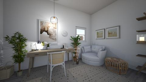 Neutral bedroom - Modern - by PeculiarLeah