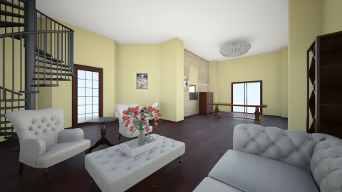 Beautiful Home Part 2 - Living room - by popov_hristijan