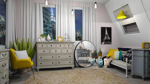 Made For Julie - Vintage - Bedroom  - by LeilaniD04
