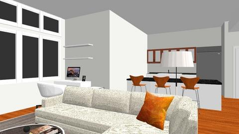 Danica Apartment LR Andes - Living room  - by J Designs Space
