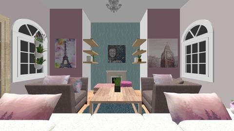 Living Room - Feminine - Living room - by sarasalih