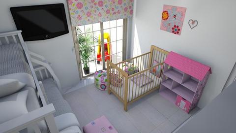 Girls bedroom - Kids room  - by Linda50