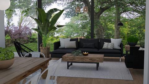 Nature - Living room  - by Tuija
