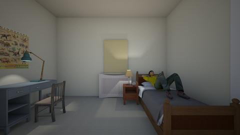 Alberto Room Apartment - Kids room  - by WestVirginiaRebel