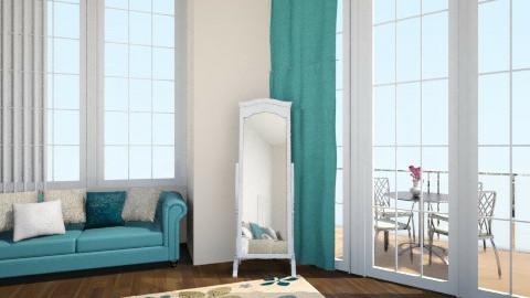 turquoise - Feminine - Bedroom - by jadyn