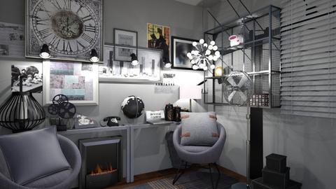 Industrial - Modern - Office  - by XiraFizade