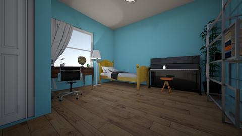Hayalimdeki Oda - Modern - Bedroom  - by CesbabaDIRECTION