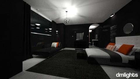 MODERN KITCHEN3 - Minimal - Living room  - by DMLights-user-1593471