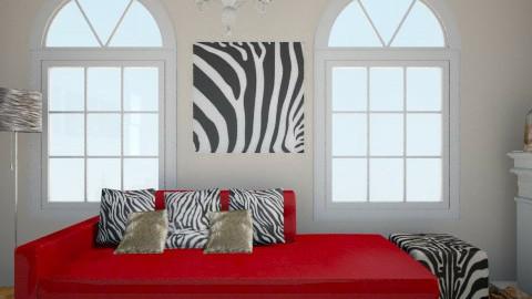 zebra room - Vintage - by jana krstic