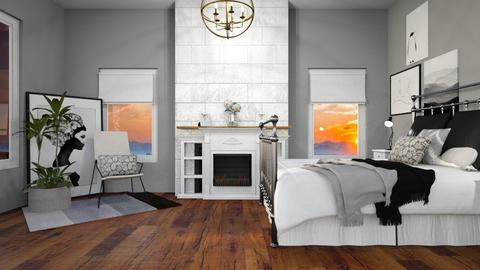 Bedroom_1 - Country - Bedroom  - by NEVERQUITDESIGNIT