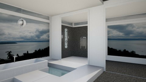 contemporary minimalist 2 - Modern - Bathroom - by deborah0101