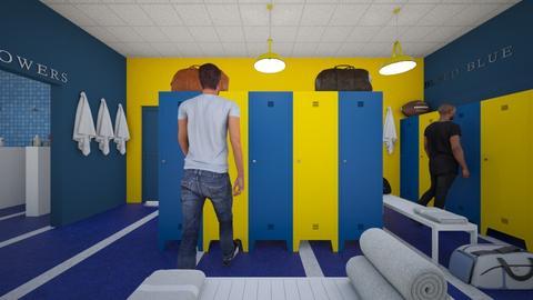 Brookside High Bumblebees - Bathroom  - by SammyJPili