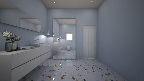house dowstairs bathroom - Bathroom  - by freewillie